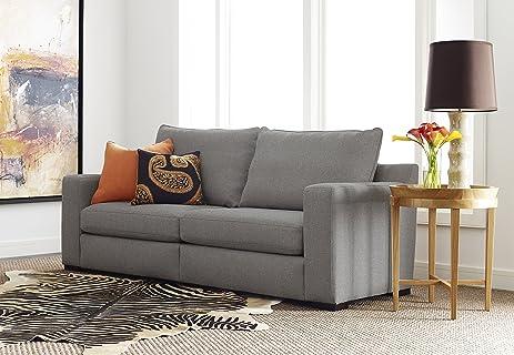 Serta Geneva 78u0026quot; Sofa In Gray