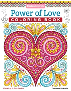 Power Of Love Coloring Book Is Fun Design Originals 32