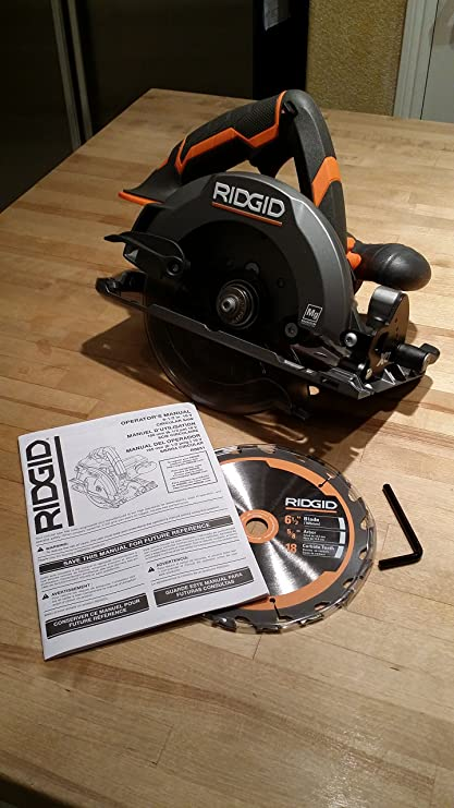 Ridgid 18 volt x4 cordless circular saw console bare tool only ridgid 18 volt x4 cordless circular saw console bare tool only r8651b exclusive debri greentooth Image collections