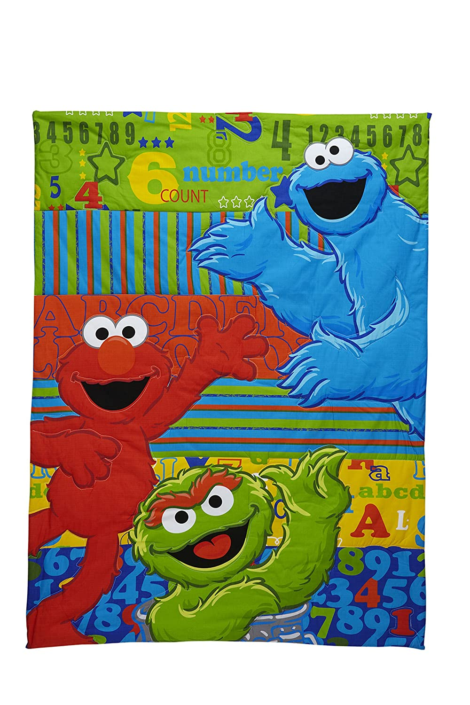 Elmo Bedroom Decorating Ideas: Elmo Crib Bedding Toddler Bed Comforter Set For Girls