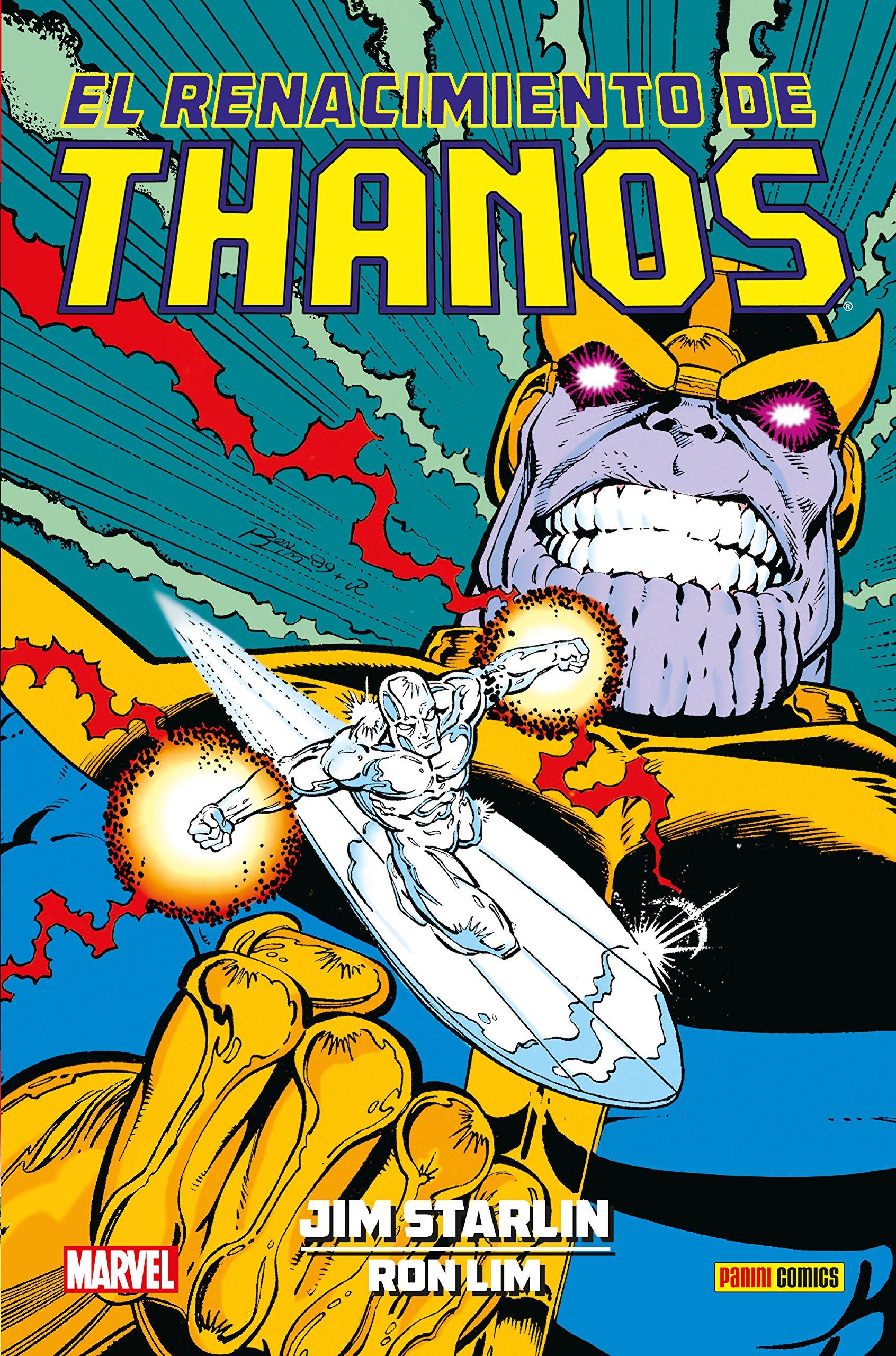 El renacimiento de Thanos: Amazon.es: Jim Starlin, Ron Lim ...