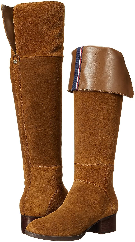 Tommy Hilfiger Women's Gianna Western US|Brown Boot B01LX13S7L 7 B(M) US|Brown Western 065403