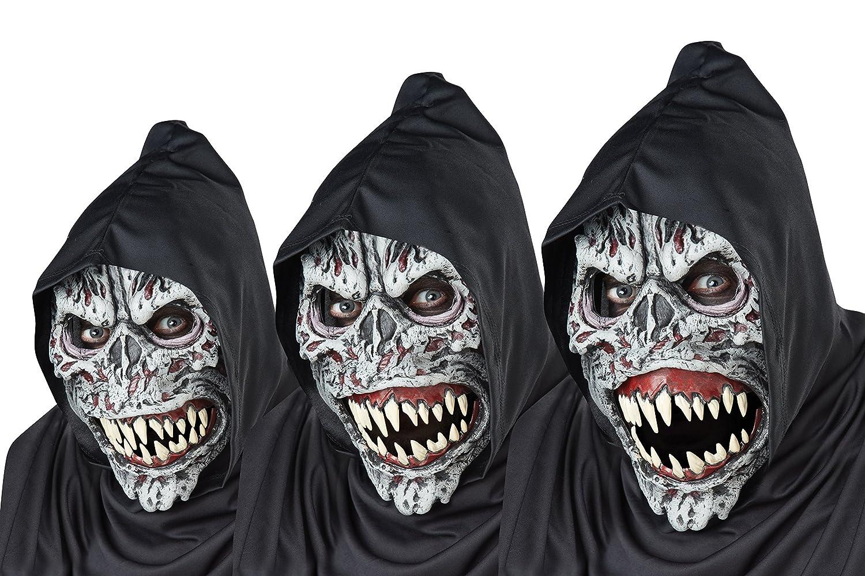 Motion Masks Halloween | Amazon Com California Costumes Men S Night Fiend Mask Assorted One