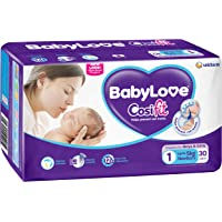 BabyLove Cosifit Newborn Nappies Up to 5kg (30 pack x 4)