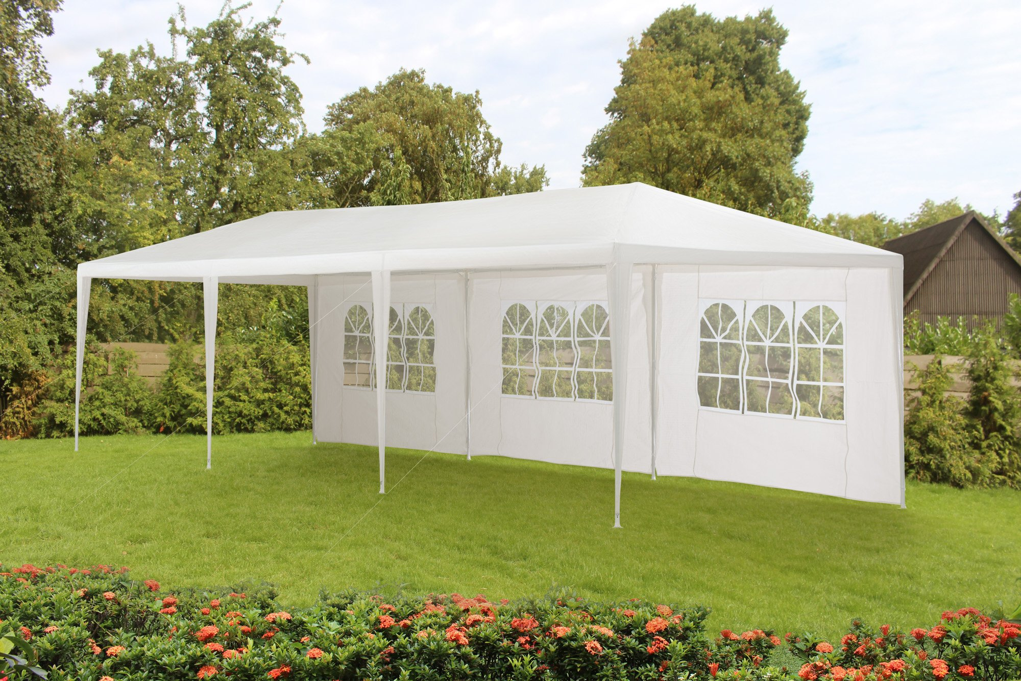 Sunjoy 10' x 30' Budget Party Tent Without Fire Retardant