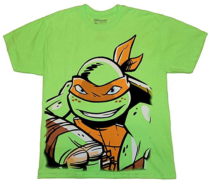4ec498b2706 Teenage Mutant Ninja Turtles Michelangelo Little   Big Boys T-Shirt  (XX-Large