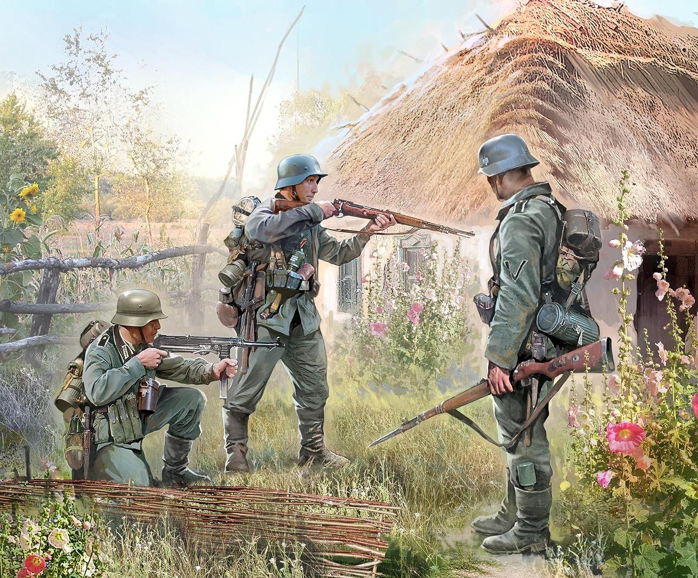 Zvezda Echelle 1:72 Infanterie Allemande 1941 Maquette Z6105