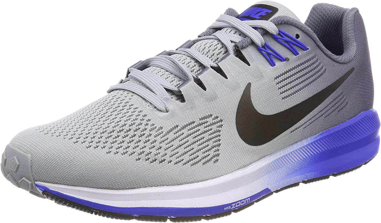 Nike Air Zoom Structure 21, Zapatillas de Deporte para Hombre, Multicolor (Wolf Grey/Black-Ligh 003), 45 EU: Amazon.es: Zapatos y complementos