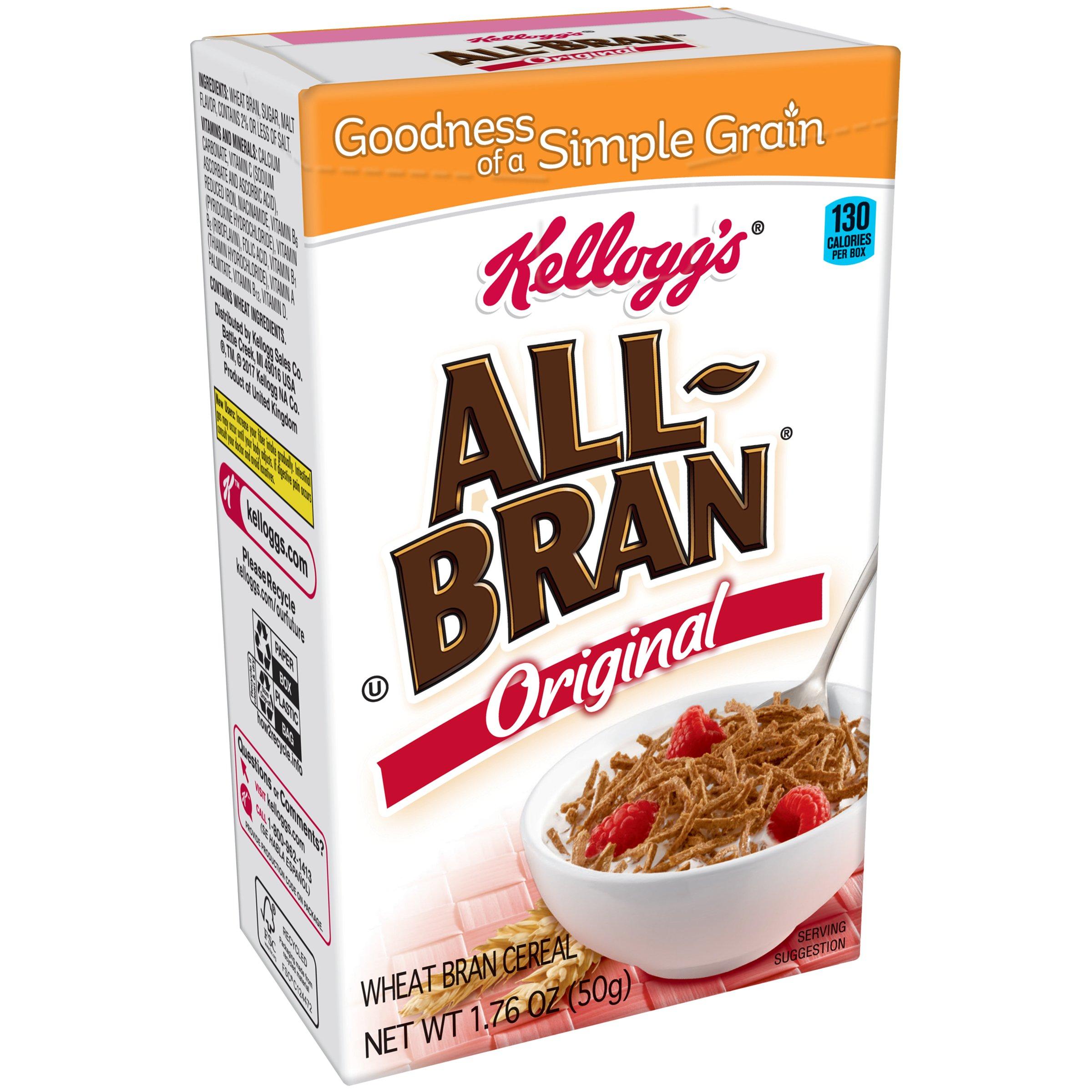 Amazon.com: All-Bran Cereal, Original, 18.3-Ounce Boxes