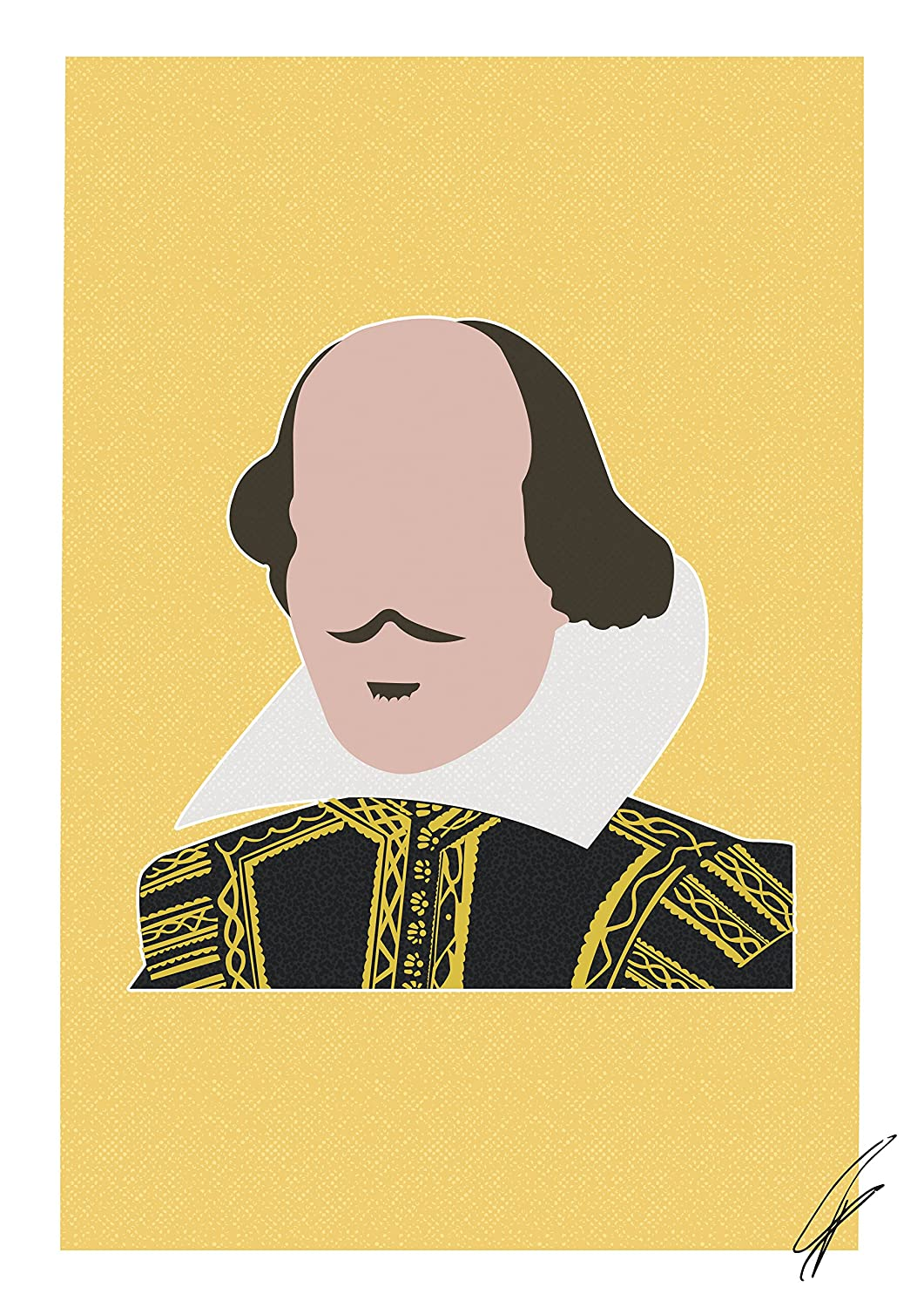 William Shakespeare INSPIRED Print//Poster