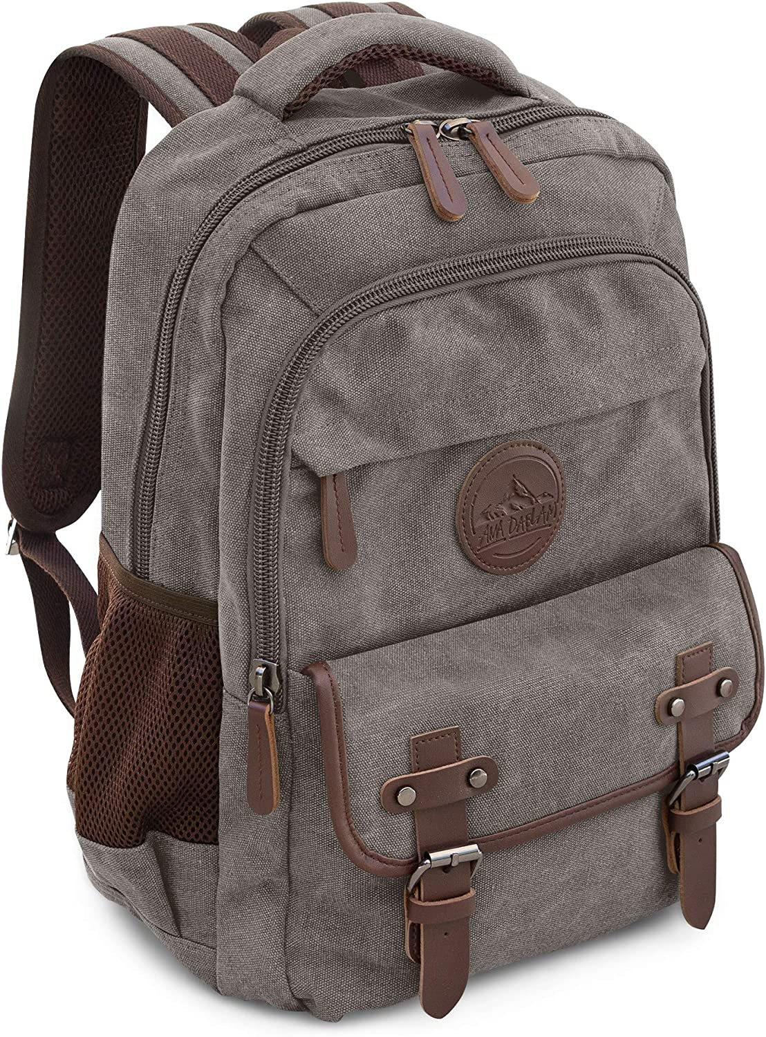 Laptop Backpack for School Hiking Work w/ 15in Sleeve Many Pockets & Padding   Anti Theft