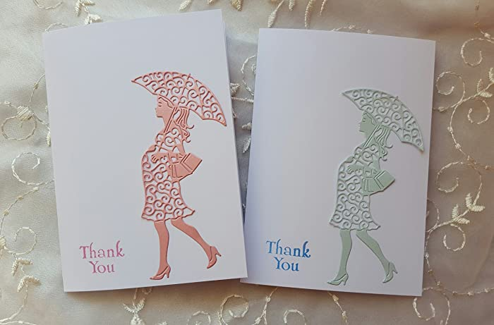 Amazon maternity thank you cards baby shower mom to be mom with maternity thank you cards baby shower mom to be mom with umbrella notes card birthday pregnant bookmarktalkfo Choice Image