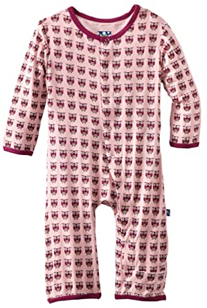 e34918442c7 Amazon.com  KicKee Pants Unisex Baby Print Coverall Shirt  Infant And  Toddler Rompers  Clothing