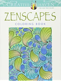creative haven zenscapes coloring book adult coloring
