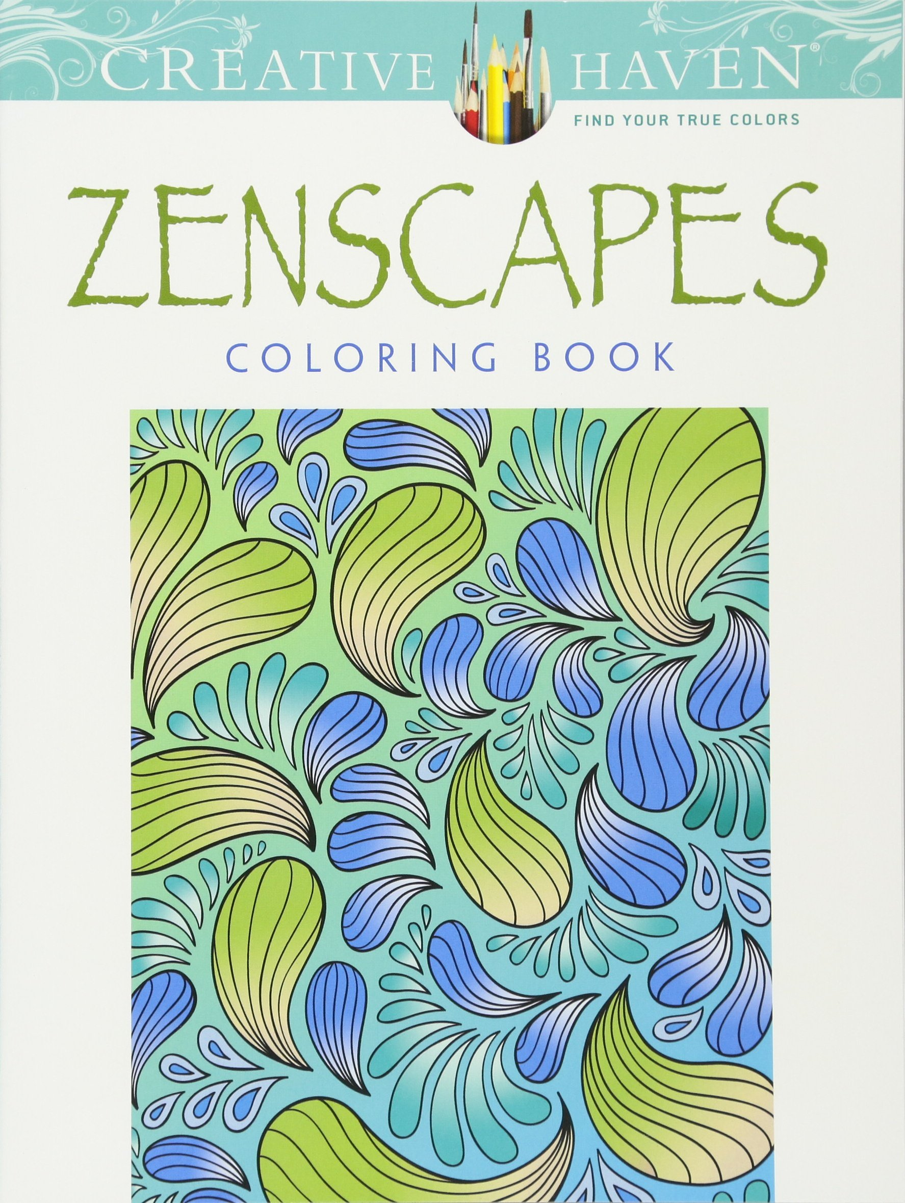 Creative Haven Zenscapes Coloring Adult product image