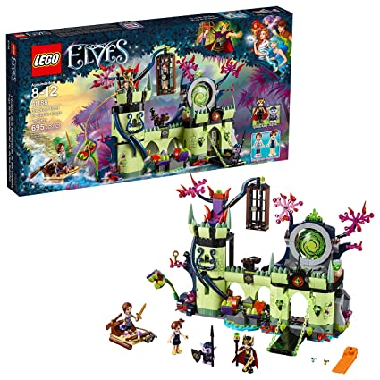 King's Fortress Kit695 Breakout Elves From 41188 Building Goblin Piece Lego The w0OmnvN8