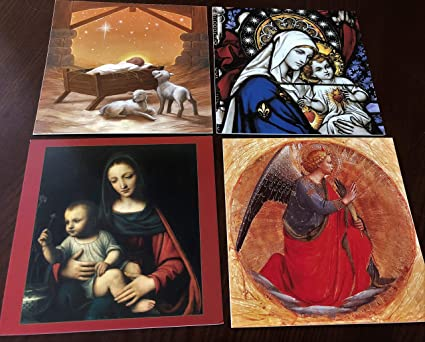 Religious Christmas Cards For Children.Amazon Com Spiritual Christmas Cards Religious Christmas