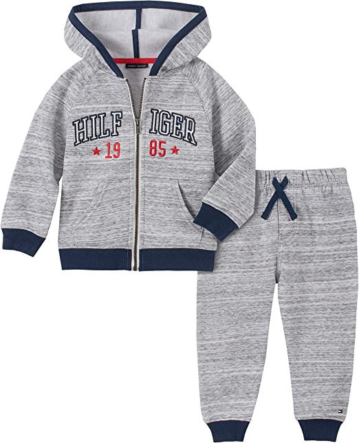 Tommy Hilfiger Baby Boys 2 Pieces Hooded Jog Set