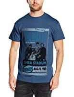 The Beatles Men's Shea Stadium 1965 Short Sleeve T-Shirt