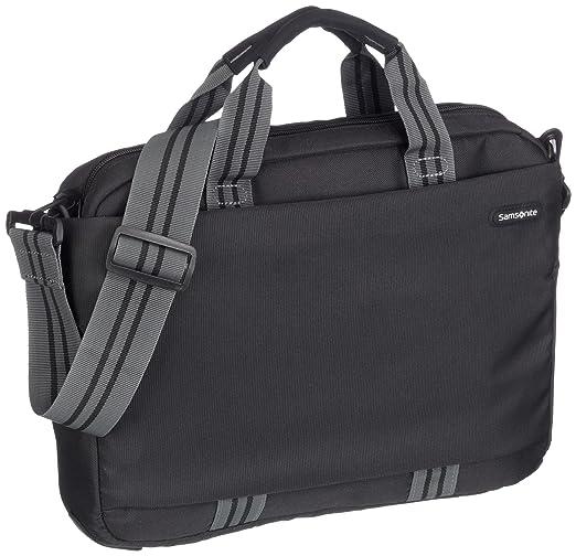 Samsonite V7609002 - Bolso para portátiles de hasta 14,1 (tamaño pequeño), color negro: Amazon.es: Equipaje