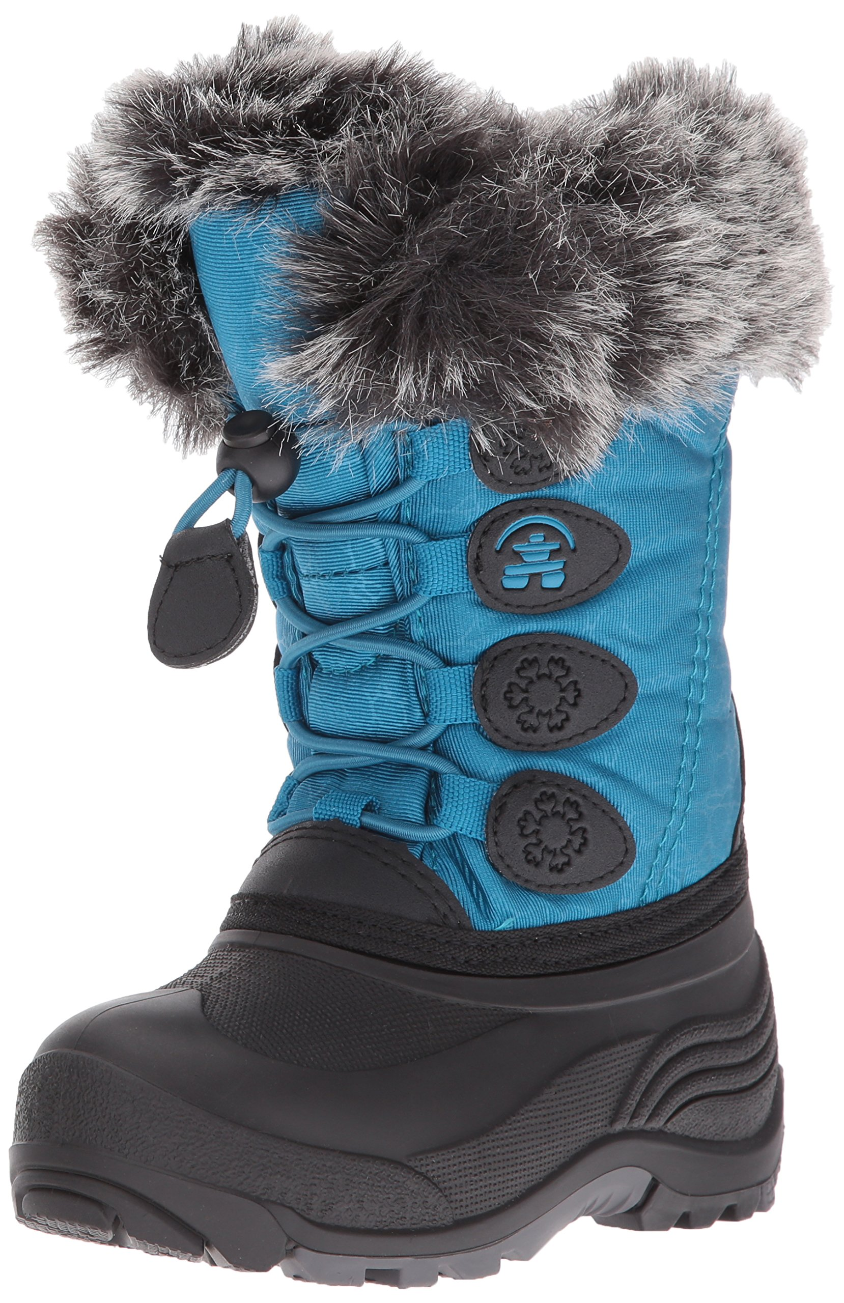 Kamik Kids' Snowgypsy Snow Boot, Teal, 8 Medium US Toddler