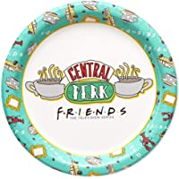 American Greetings 7 RND PLT CT HC Friends Party Supplies, Dessert Plates (36-Count)