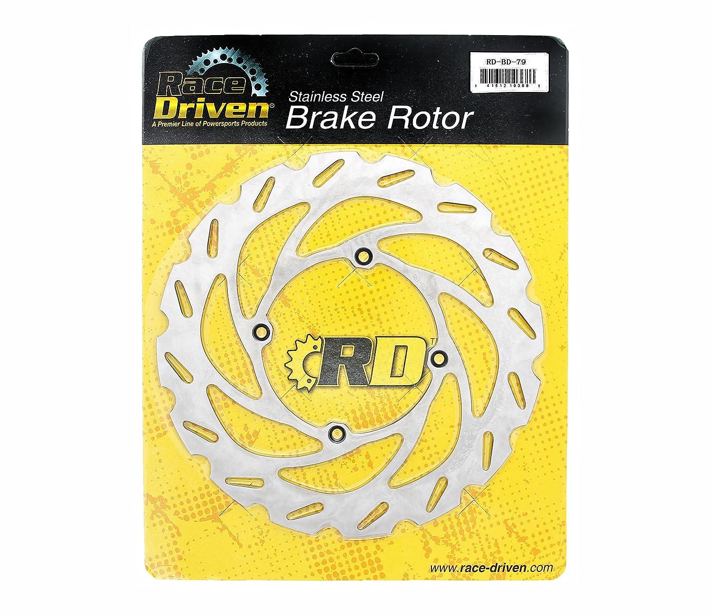 Race Driven Front /& Rear RipTide Brake Rotors /& Brake Pads for Kawasaki KX125 125 KX250 250 KX500 500