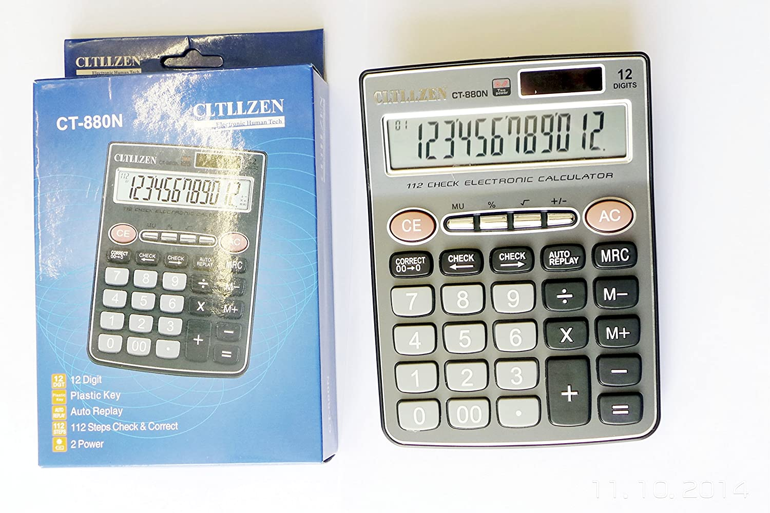 Scientific Calculator Perfect For A-levels GCSES Office Use 240 Functions cr991