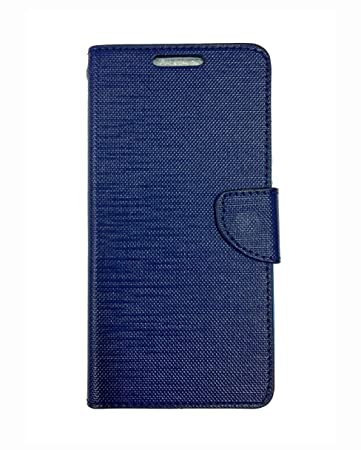 newest fa766 d0070 Fabson Flip Cover for Micromax Canvas Spark 3 (Q385) Flip Cover Case - Blue