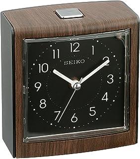 Seiko Contemporary Bedside Alarm Clock With Dial Light