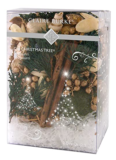 Amazon.com: Claire Burke Oh Christmas Tree Boxed Potpourri: Beauty
