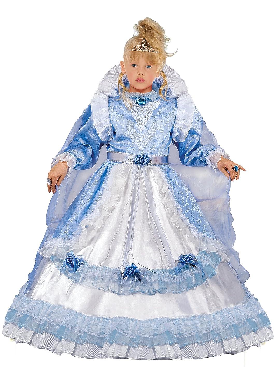 Fiori Paolo Costume per Bambini, Azzurro, 3-4 anni 57156.3-4