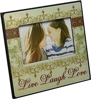 fashioncraft live love laugh picture frame
