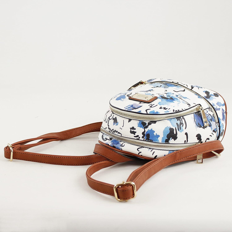 Azul W x H x L 25.5x11x24 cm Bolso bandolera para Mujer, Eferri 0JV5915