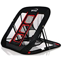 Spornia SPG Golf Chipping Net- Indoor/Outdoor- (2 in 1) Golf Practice - 25in. Collapsible Chipping Target Net w/Golf Scrub Patch Towel
