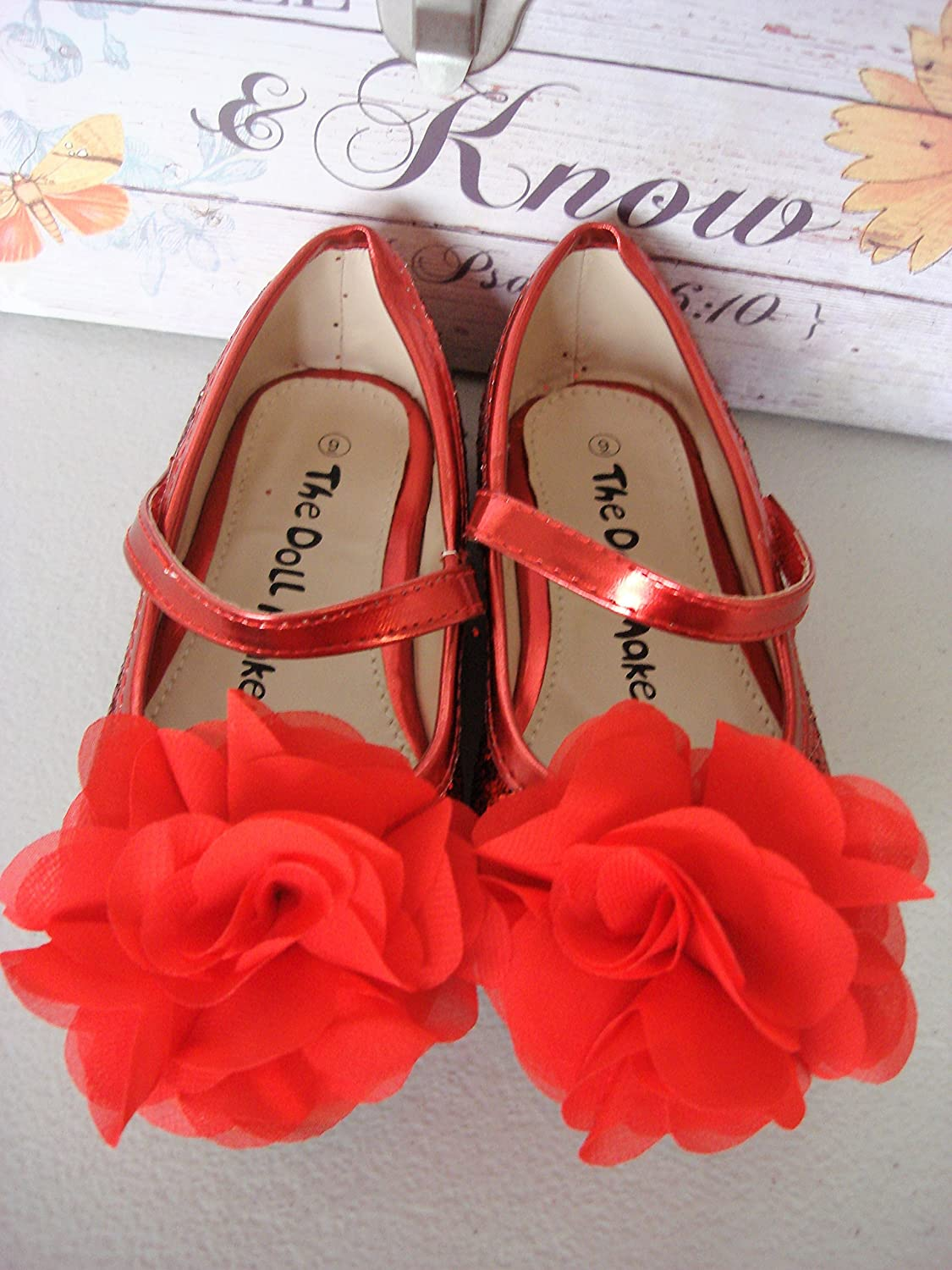Wedding party flower girl sparkling s flower shoes glitter sparkling wedding party flower girl sparkling s flower shoes glitter sparkling chiffon b06xxt2jcd floral on topper 3 colors red 73b55a8 ctdesing mightylinksfo