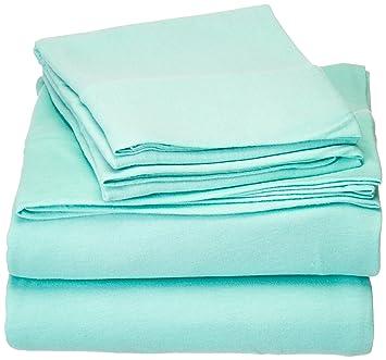 intelligent design id20698 cotton blend jersey knit sheet set queen aquaqueen - Jersey Knit Sheets