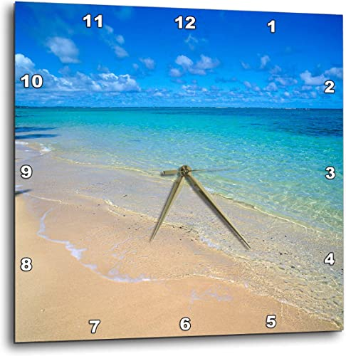 3dRose DPP_89643_3 Lanikai Beach, Oahu, Hawaii – US12 DPB0783 – Douglas Peebles – Wall Clock, 15 by 15-Inch