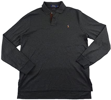 Polo Ralph Lauren Men S Pima Soft Touch Ls Polo Shirt At Amazon