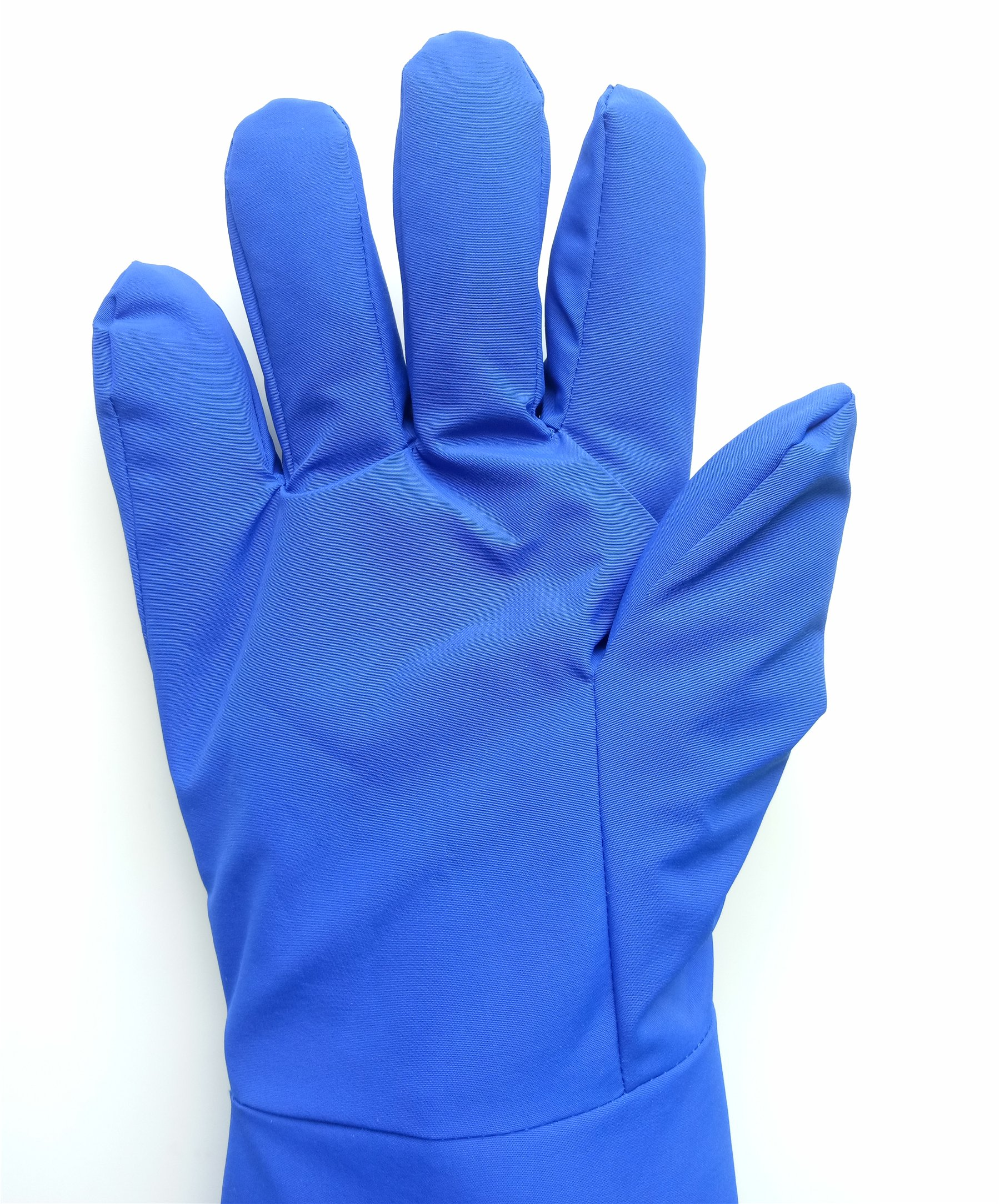 Inf-way 4 Sizes Long Cryogenic Gloves Waterproof Low Temperature Resistant LN2 Liquid Nitrogen Protective Gloves Cold Storage Safety Frozen Gloves (Blue Large) by Inf-way (Image #7)