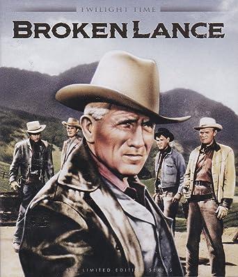 83176162bf9d Amazon.com  Broken Lance - Twilight Time  1954   Blu ray   Spencer ...