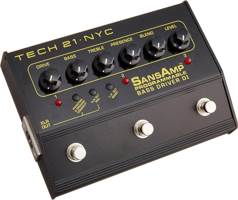 Tech 21 SansAmp Programmable Bass Driver DI (japan import ...