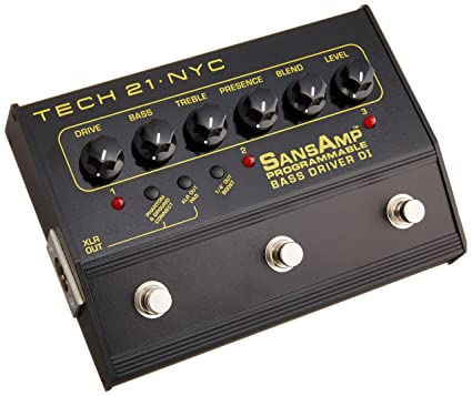 TECH 21 SANSAMP PROGRAMMABLE BASS DRIVER FOR WINDOWS