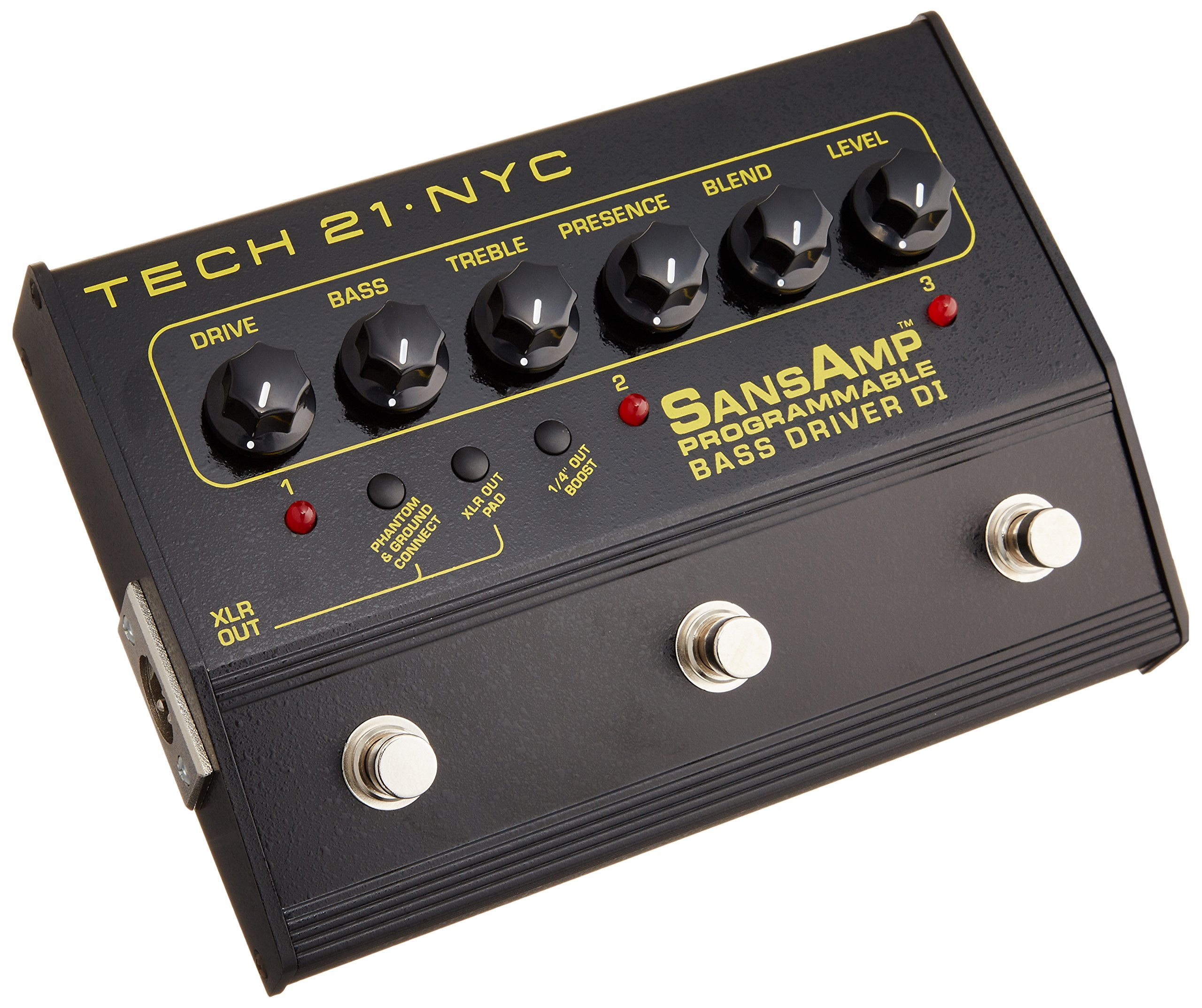 Tech 21 PBDR SansAmp Programmable Bass Driver DI by tech21