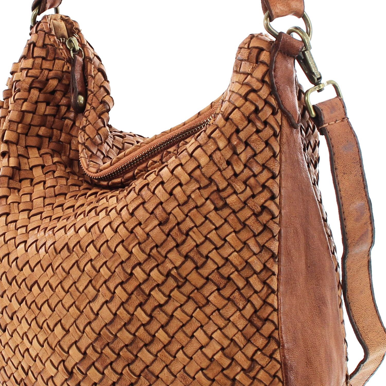 045157041752e MIO Sun weiche Damen Tasche Vintage Ledertasche Schultertasche Frauen  Beutel Taschen Handtaschen Umhängetasche geflochten Leder Beuteltasche  Shopper ...