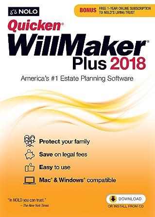 Amazon quicken willmaker plus 2018 mac and windows online quicken willmaker plus 2018 mac and windows online code fandeluxe Images