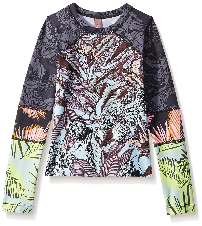 Maaji Girls' Mixed Print Long Sleeve Rashguard Swimsuit Top Maaji Children's Apparel 3102KKB0102