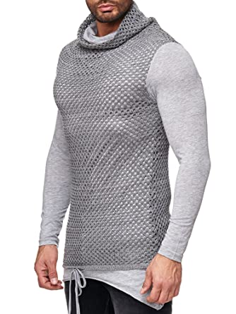 3b55732ba61 Red Bridge Homme Sweat-Shirt Manches Longues Oversize Casual Basic Pull   Amazon.fr  Vêtements et accessoires