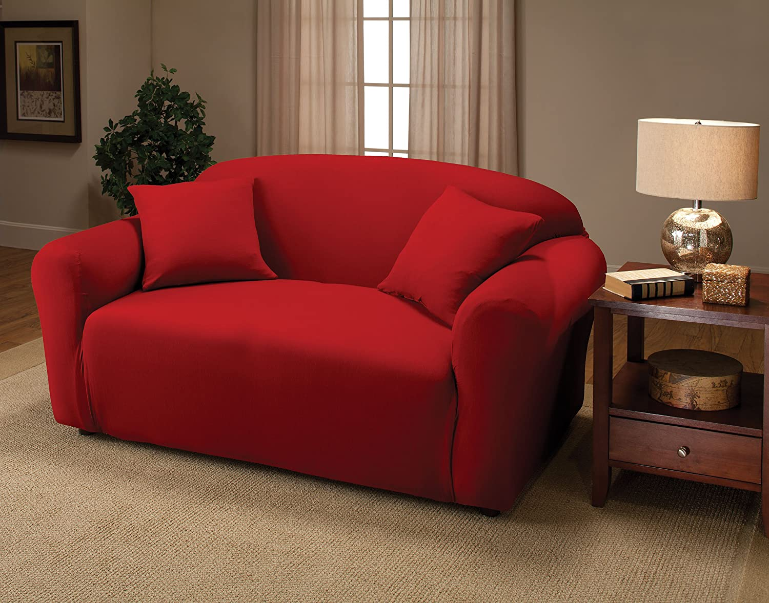 overstock loveseats shipping cole red loveseat clay today leather alder garden product free burnt home