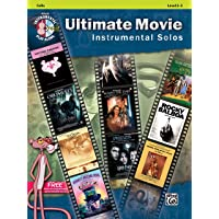Ultimate movie instrumental solos: cello (book/CD) +CD (Alfred's